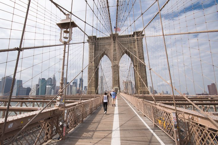 Le Pont de Brooklyn !