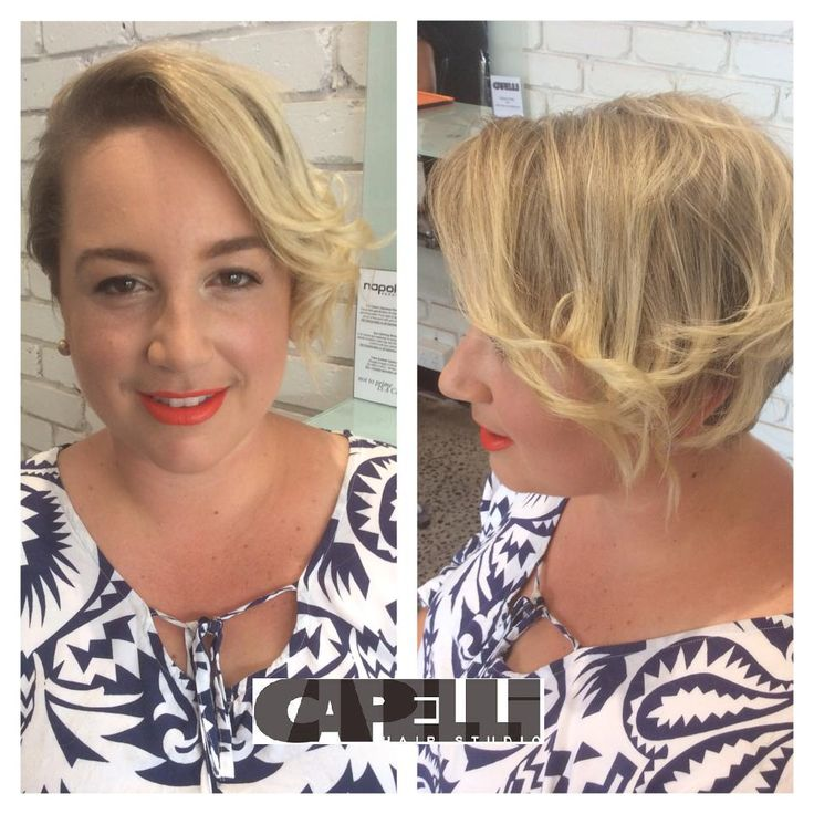 Effortless look to enhance natural beauty! And who doesn't love a bold lip! #napoleonperdis #makeover #haircurled