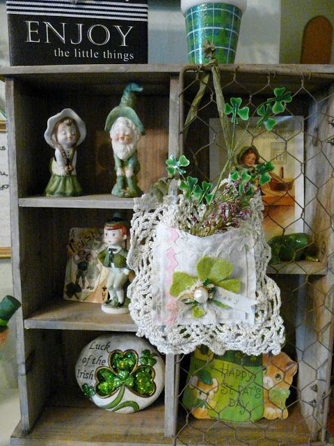 Hudson's Holidays - Designer Shirley Hudson: St. Patty day & Easter Decor!