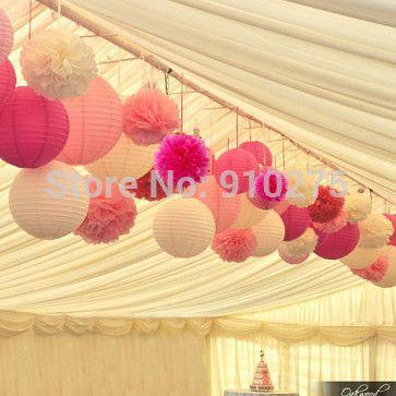 25 beste idee n over papieren lantaarn bruiloft op pinterest bruiloft lantaarns witte - Decoratie roze kamer ...