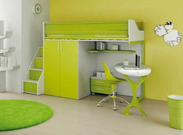 17 migliori idee su lit mezzanine avec bureau su pinterest lettura bambini - Lit mezzanine metal avec bureau ...