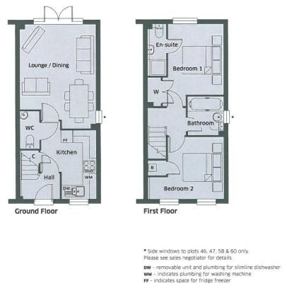 Example house types & floor plans