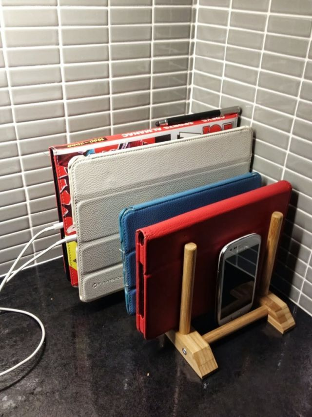 17 Best Ideas About Phone Charging Stations On Pinterest