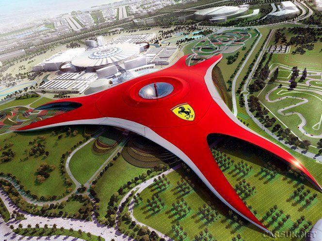 """Isso é o que eu chamo de experiência de marca. A Ferrari lançou um parque temático chamado""""Ferrari World"""", onde as pessoas podem andar de montanha russa - onde os carrinhos, são Ferraris - e experimentar a força G da Ferrari em um simulador, construído em Abu Dhabi, nosEmirados Árabes."""
