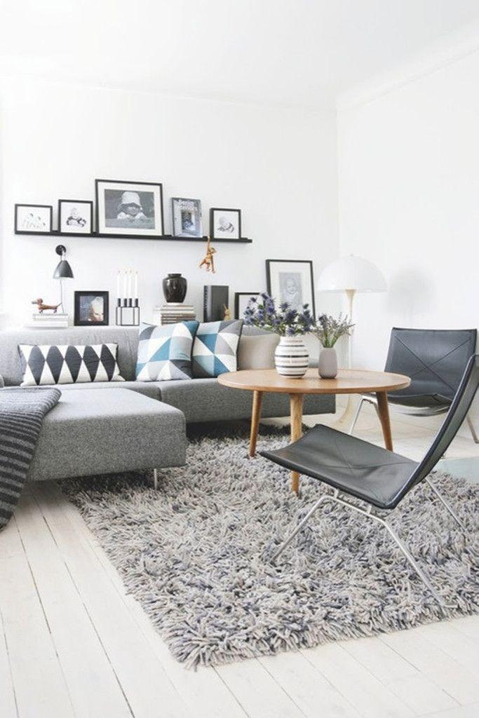 Estante detrás del sofá, una opción con muchas ventajas | Decorar tu casa es facilisimo.com
