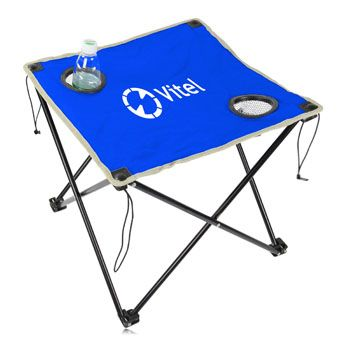 You can benefit from the Folding Table With Bag even if you are already using other advertising methods. Featuring 2 mesh cup holder, steel frame diameter 13 cm, 0.6 cm pipe thickness, round trimed, drawstring carry bag. More info: http://avonpromo.com/folding-table-with-p-8737.html