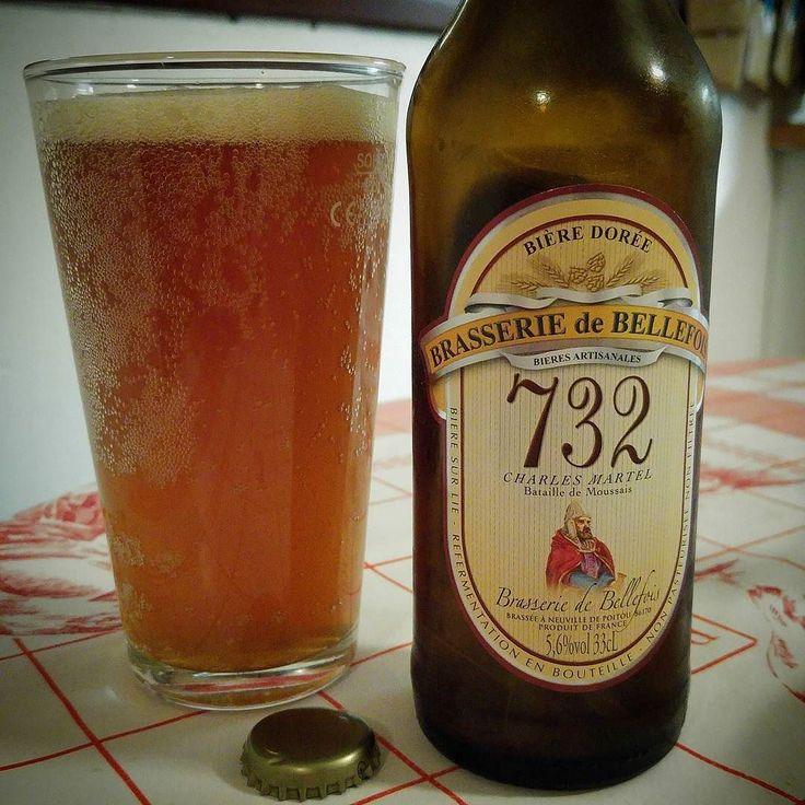 Dégustation de la 732. Une bière dorée de la brasserie de Bellefois #Poitou #Poitiers #CraftBeer ............................................................................. #BeerTime #ZythoTaste #Beer #Bier #Bière #Øl #Olut #Olout #Öl #Birre #Birra #Cerveza #Pivo #Cerveja #Пиво #ビール #Bīru #Bia  #beercaps #igbeer #beersommelier #beerstagram #loversbeer #instapic