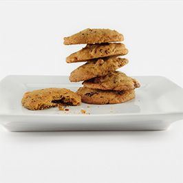 The recipe for love is simple: bourbon + bacon + chocolate = cookies. #dessert #love