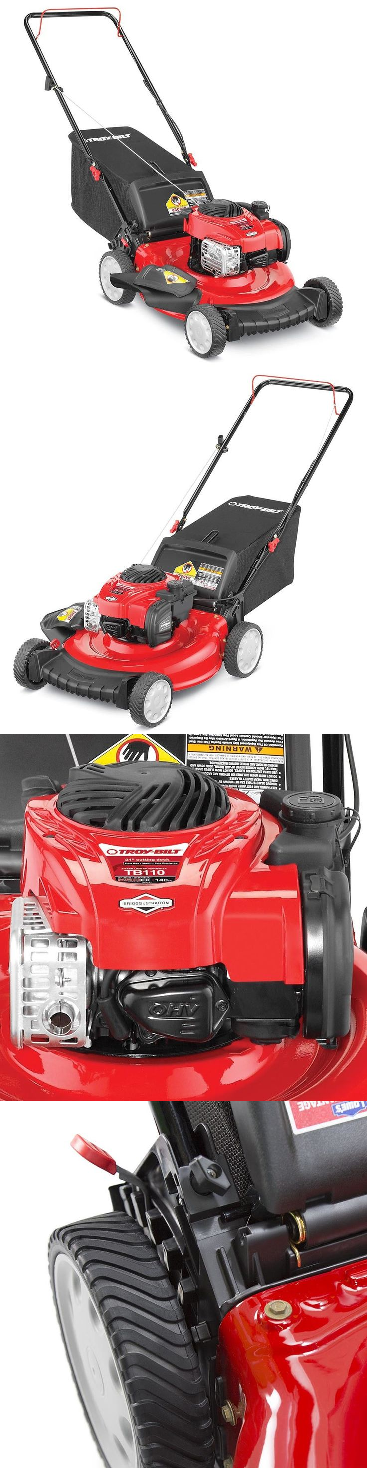 Walk-Behind Mowers 71272: Troy-Bilt Tb110 Push Gas Lawn Mower - 21 In-Push With Mulching Capablity - Grass -> BUY IT NOW ONLY: $208.99 on eBay!