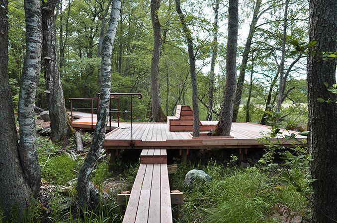 Arninge Ullna Riparian Forest Park Stockholm Sweden Topia Landskapsarkitekter Park Landscape Forest Design Landscape Architecture