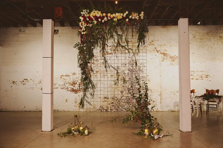 Image 7 - Surprise Wedding brimming with confetti, rustic colors, romantic lighting + industrial beauty! in Real Weddings.