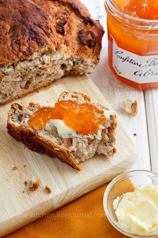 Foodclub — кулинарные рецепты с пошаговыми фотографиями - Хлеб с грецкими орехами и финиками