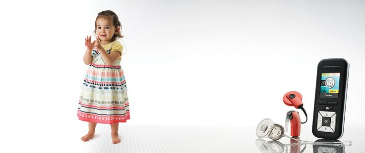 The Cochlear Nucleus® 6 System has options that will grow with your child. www.cochlear.com
