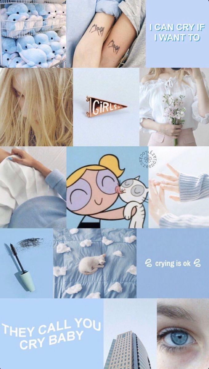 Pin By Arshiya Hassarup On Melanie Martinez In 2020 Bubbles Wallpaper Blue Wallpaper Iphone Powerpuff Girls Wallpaper