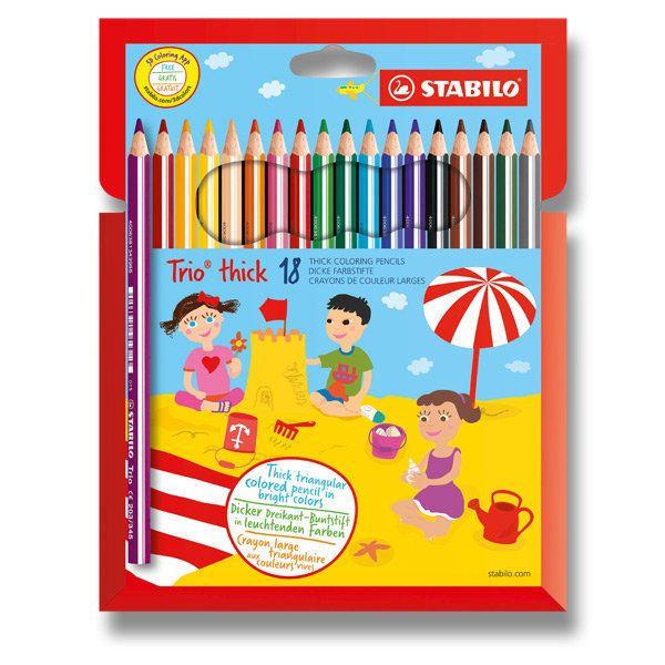 Silnější pastelky s ergonomickým úchopem, lze dokupovat po barvách, ideální pro přeškoláky a první třídu http://activacek.cz/produkt/pastelka-stabilo-trio-613/