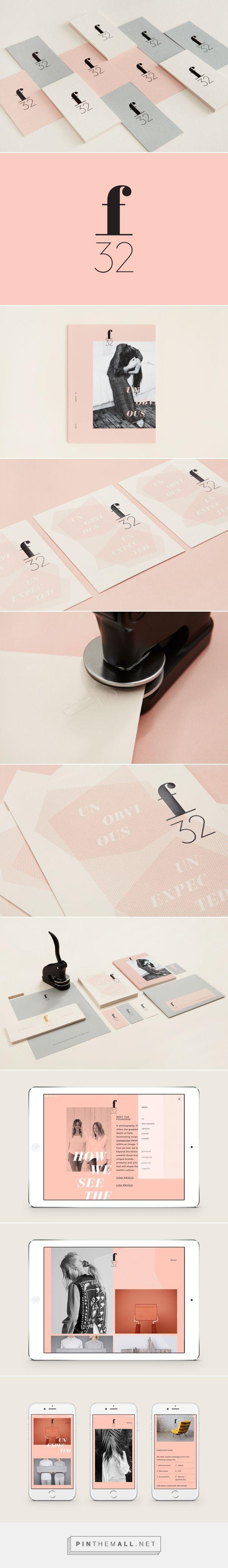 New Logo & Brand Identity for f32 by Blok Design