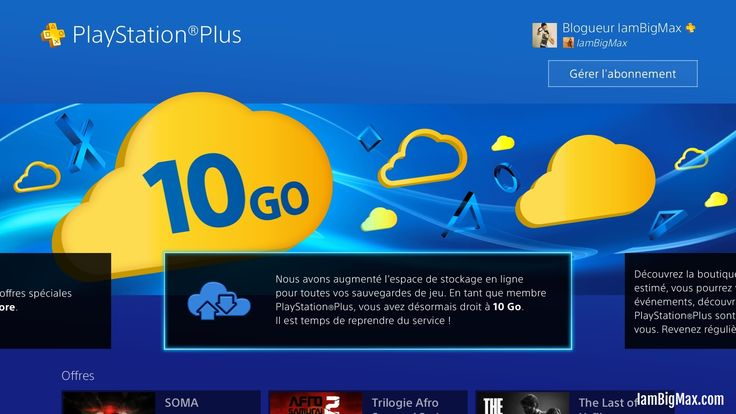 [news] PS4 – mise à jour 3.0