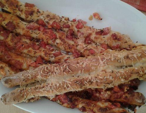 Pizzastangerl-Rezept
