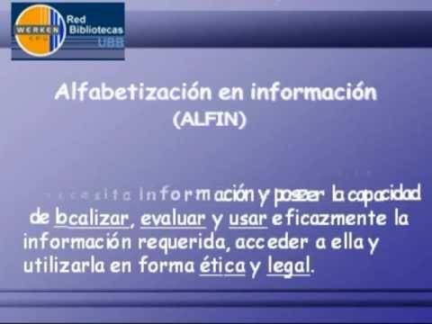 ▶Programa de desarrollo de competencias en el uso de la Información. Red de Bibliotecas de la  Universidad de Bio Bio. (Chile, 2009).