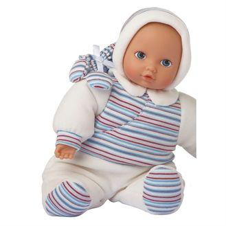 Meget fin økologisk dukke til de helt små. Dukken er lavet af superblødt økologisk bomuld og er skøn at kramme.  Hurtig dag-til-dag levering.