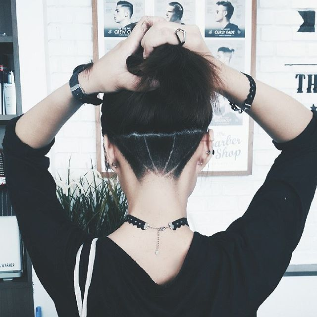 Pin for Later: Undercut Tattoos Are the Sneakiest Way to Add Flair to Your Hair