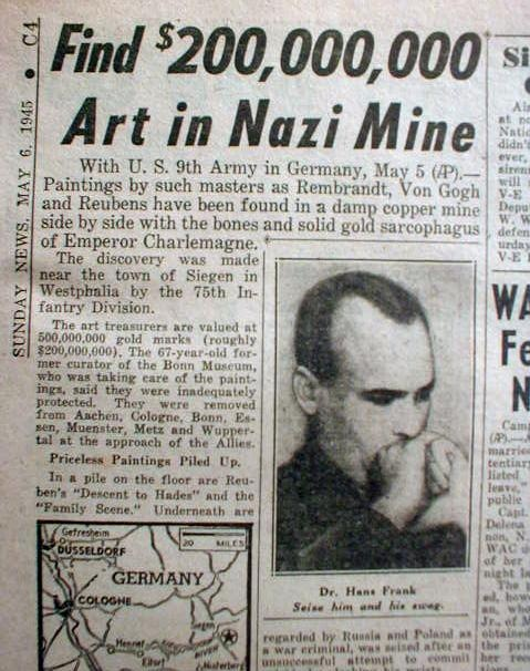 1945 Looted Artwork