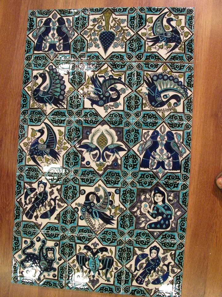 selçuklu çini plakalar by Zehra Akbal