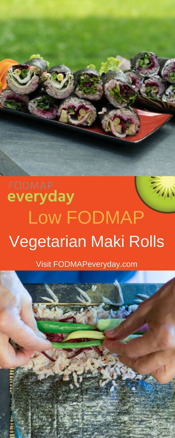 Contributor Leslie Cerier shows us how to make Vegetarian Maki Rolls with or without a sushi mat.