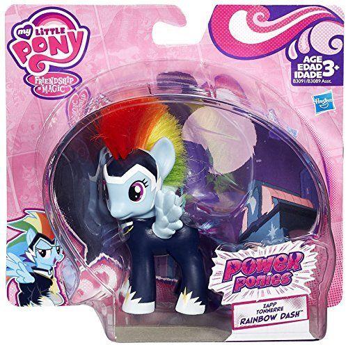 My Little Pony Friendship Is Magic Power Ponies Rainbow Dash Exclusive Figure