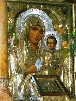 Η Μητερα και το Θειο Βρεφος..