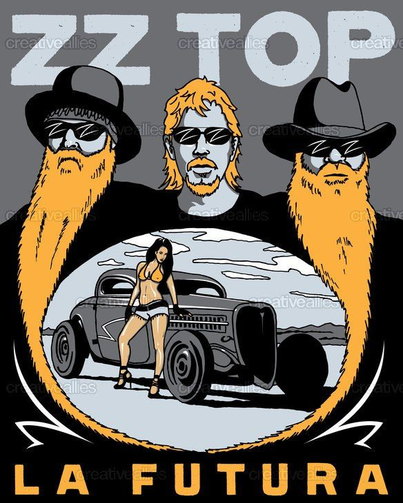 281 Best ZZ Top Images On Pinterest