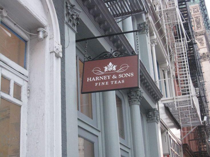 Harney and Sons Tea,  Soho, NY City.. I need to visit the next time I am in the city.