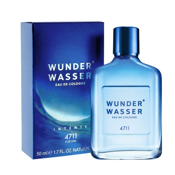 Wunderwasser Wunderwasser Eau de Cologne for Men opens with an impressively fresh, citrusy cocktail of mandarin, bergamot, lemon and a spicy hint of black pepper. The distinctive heart note contains lavender, star anise, iris butter and cistus, while the base note of patchouli, teak, sandalwood and richly facetted driftwood sensually rounds off the fragrance.