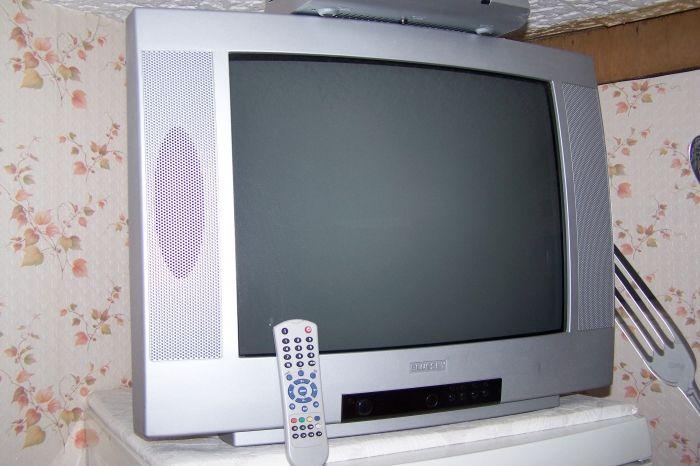 Television de marque BLUESKY tres bonne etat avec telecommande  ecrant: 52cm 1 prise peritel a l'arriere