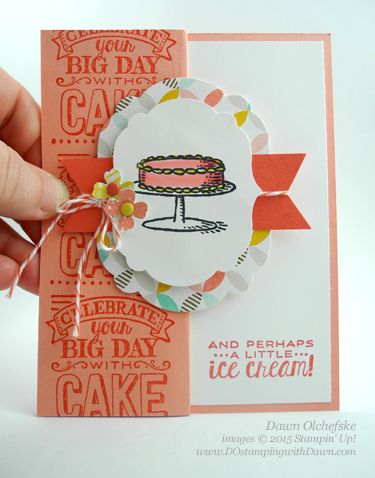 Control Freaks Blog Tour Feb 2015 Sale-a-Bration Big Day & Best Year Ever card by Dawn Olchefske #dostamping #stampinup