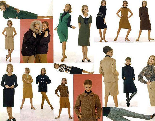 1964 Fashion | Herfstmode 1964 / Autumn fashion 1964
