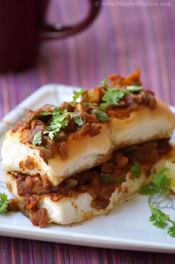 Masala Pav Recipe ~ Mumbai Street Food Recipes   Indian Cuisine