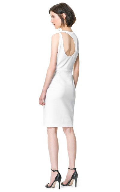 Image 1 of OPEN-BACK DRESS from Zara