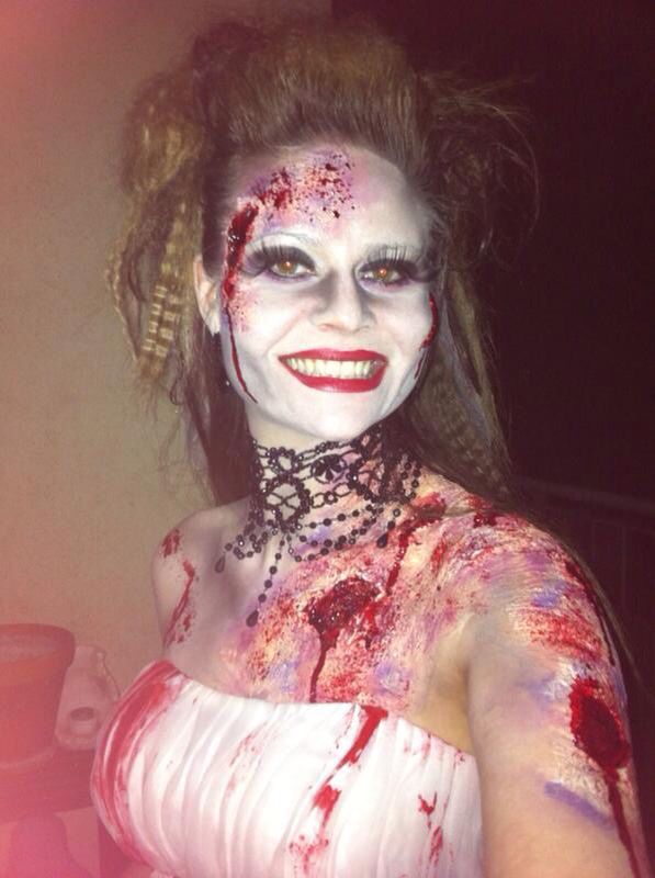 zombie braut karneval pinterest