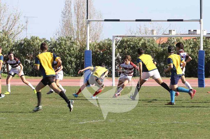 Rugby/Sub-16: RC Elvas mais forte que os vizinhos de Juromenha   Portal Elvasnews