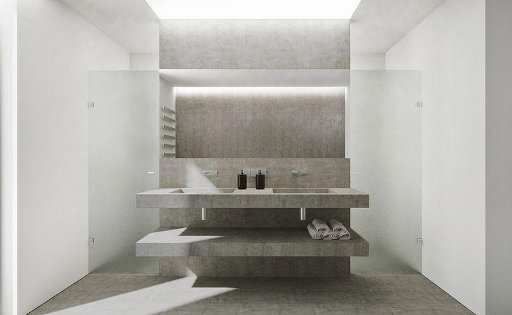 bathroom by BUROWHITE