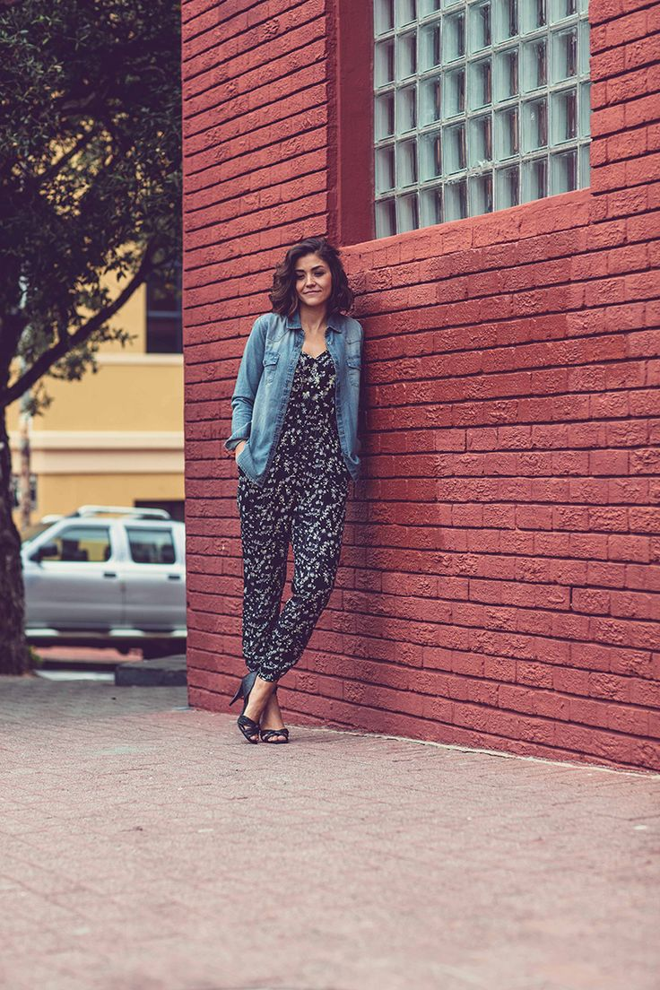 Jumpsuit, Jumpsuit and Denim, How to Wear A Jumpsuit, How to Wear A Denim Jacket, H&M, H&M Jumpsuits, Old Khaki, Bricks, Old Khaki South Africa, Denim Jacket, Heels, Maiax, Maiaxblog, Angelika Kollin Photography, Fashionista, Fashion, Fashion Photography, Moda, OOTD, Fashion Blogger, Lifestyle, Mango Shoes, Shoes, Outfit Ideas, Stilettos, Fashionable, Fashiongram, Lookbook, Photographer, Style, Natural Light Photographer, Fashion and Lifestyle Blog, Wanderlust, Travel, Bo Kaap, Cape Town
