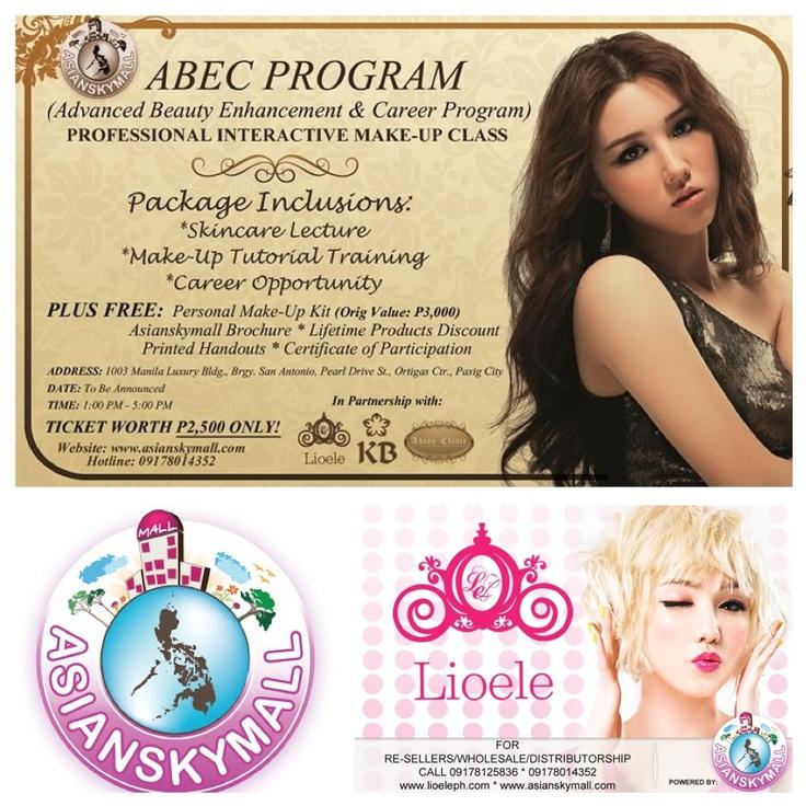 Lioele ABEC (Advanced Beauty Enhancement & Career Program) Professional Interactive Make-Up Class