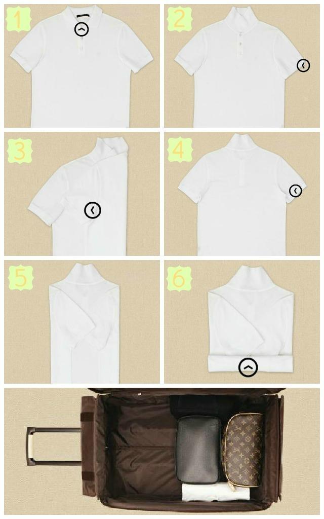 Siempre Es Sábado: Cómo doblar la ropa en la maleta