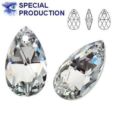 6106 Pear-shaped 22mm Crystal CAL  Dimensions: height - 22,0mm Colour: Crystal CAL 1 package = 1 piece