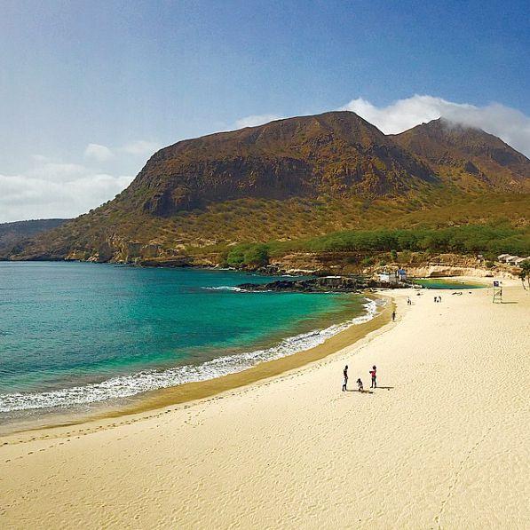 Beach in Tarrafal, Santiago #CapeVerde #CaboVerde #Kaapverdie
