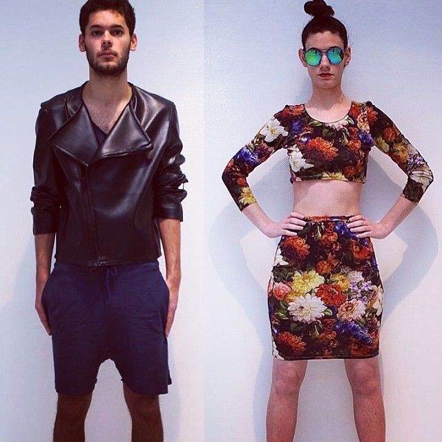 Models: William Bittencourt & Myrto Papilou Designer: Mariana de Aguiar