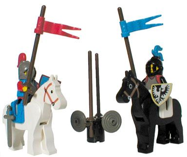 This summarize my child hood. I loved these LEGO knights!!