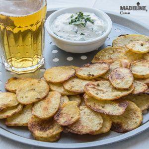 Chipsuri de cartofi la cuptor / Baked potato chips - Madeline's Cuisine