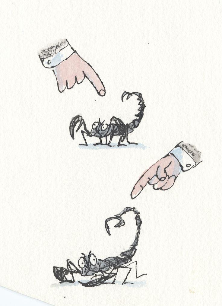 Quentin Blake illustrations